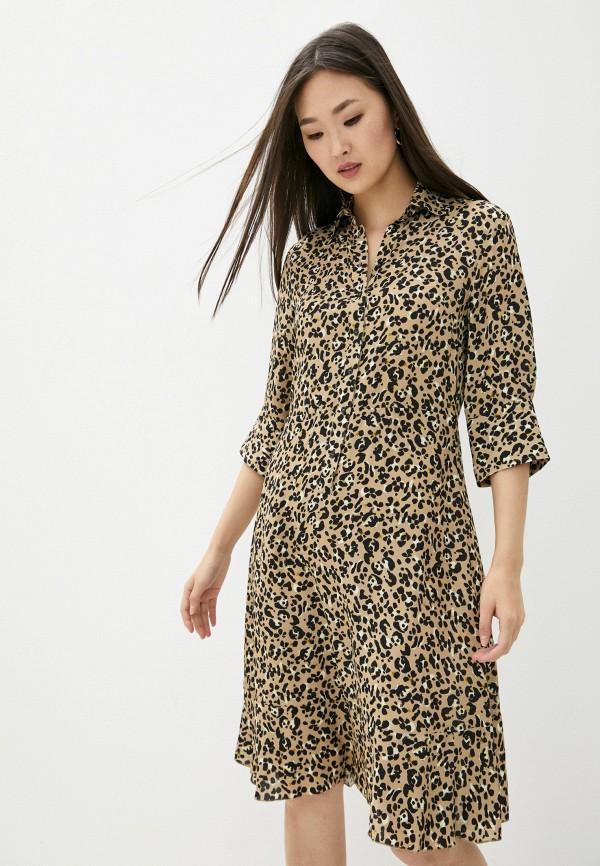 женское платье-рубашки seventy, бежевое