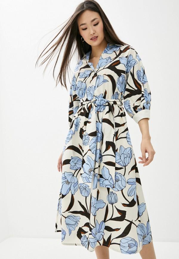 женское платье мини seventy, разноцветное
