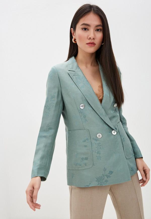 женский пиджак seventy, зеленый