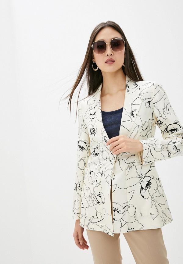 женский пиджак seventy, бежевый