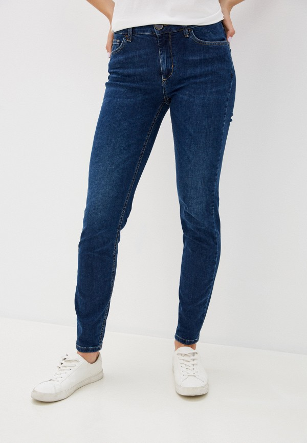женские джинсы скинни seventy, синие