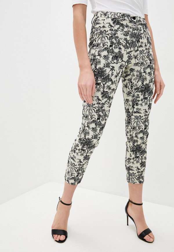 женские повседневные брюки seventy, бежевые