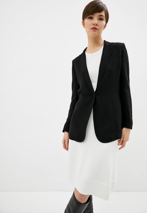 женский пиджак seventy, черный