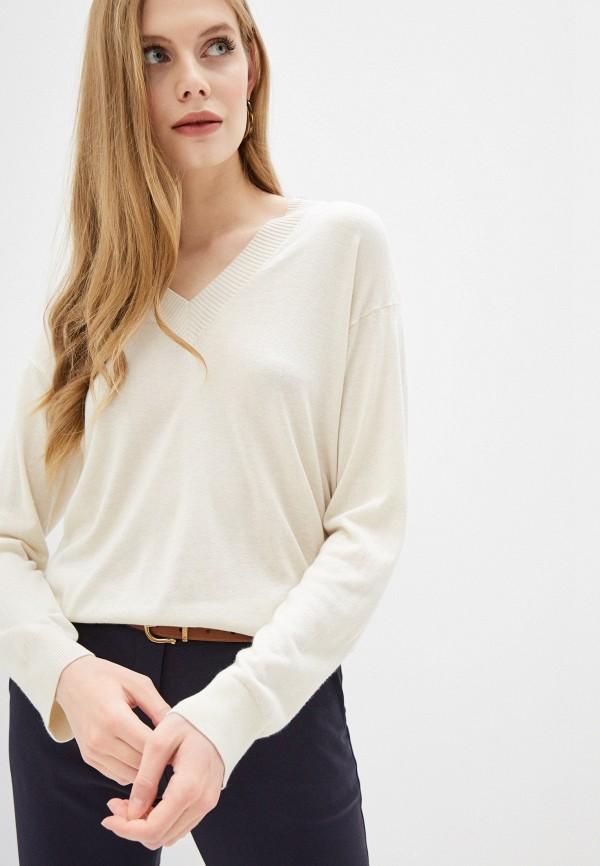 женский пуловер seventy, бежевый