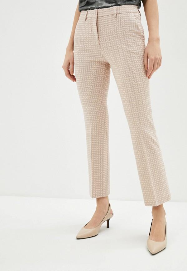 женские повседневные брюки seventy, розовые