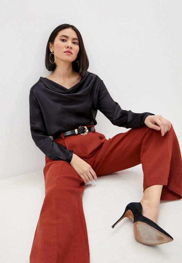 женская блузка seventy, черная