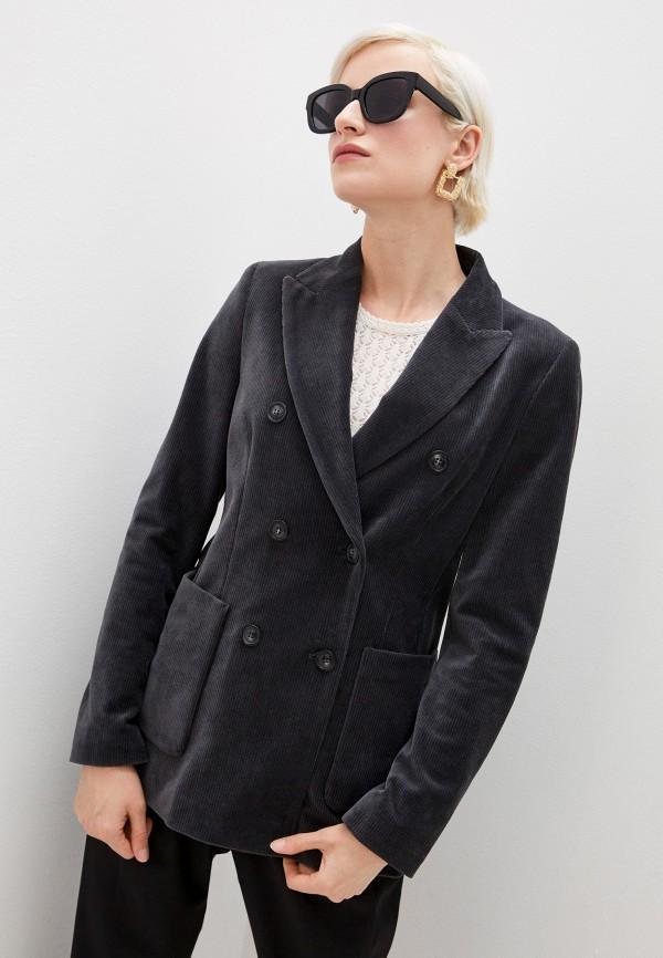 женский пиджак seventy, серый