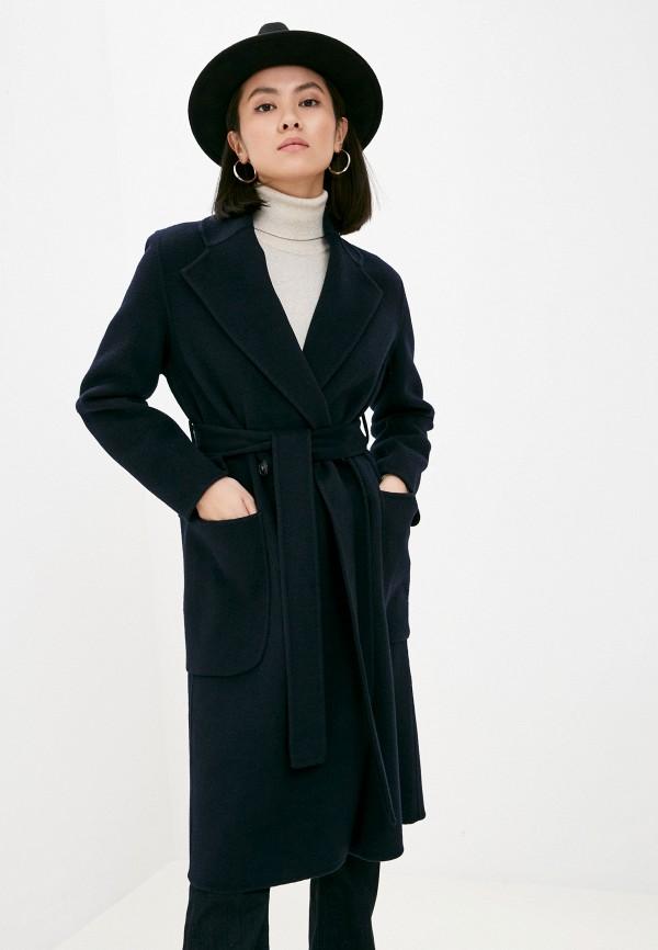 женское пальто seventy, синее