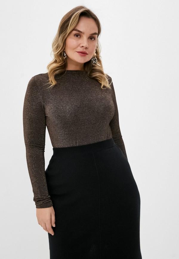 женский джемпер seventy, коричневый