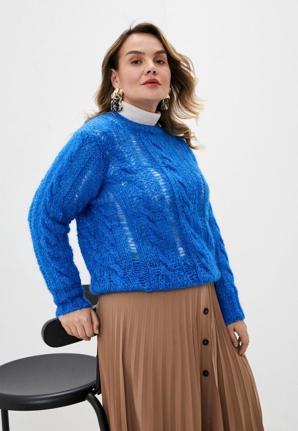 женский джемпер seventy, синий