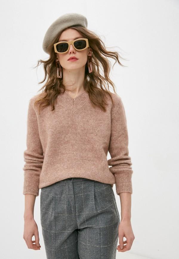 женский пуловер seventy, розовый