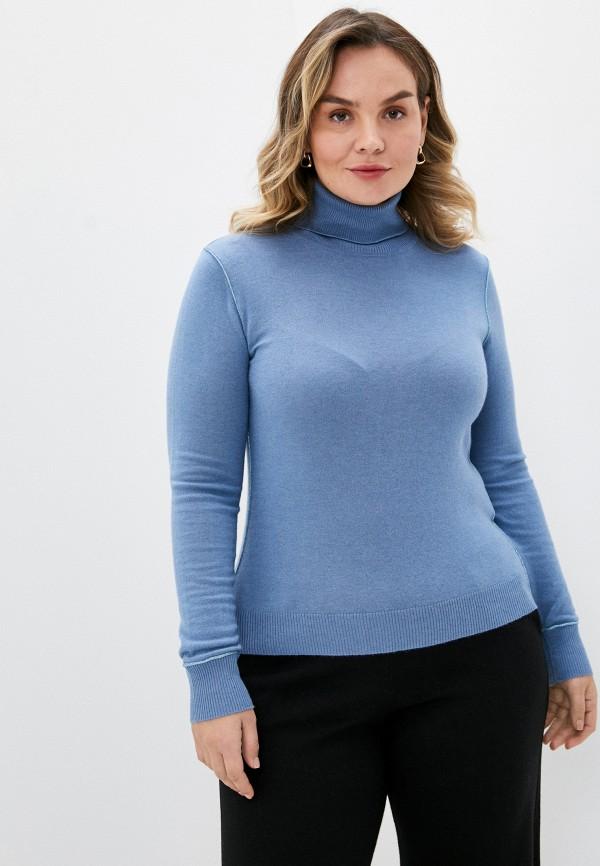 женская водолазка seventy, голубая