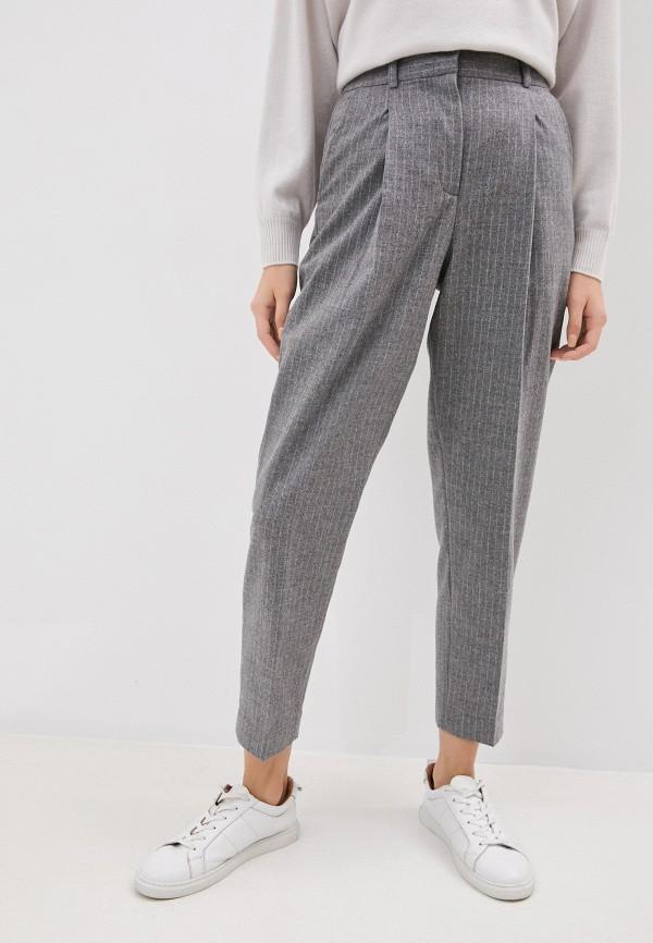 женские классические брюки seventy, серые