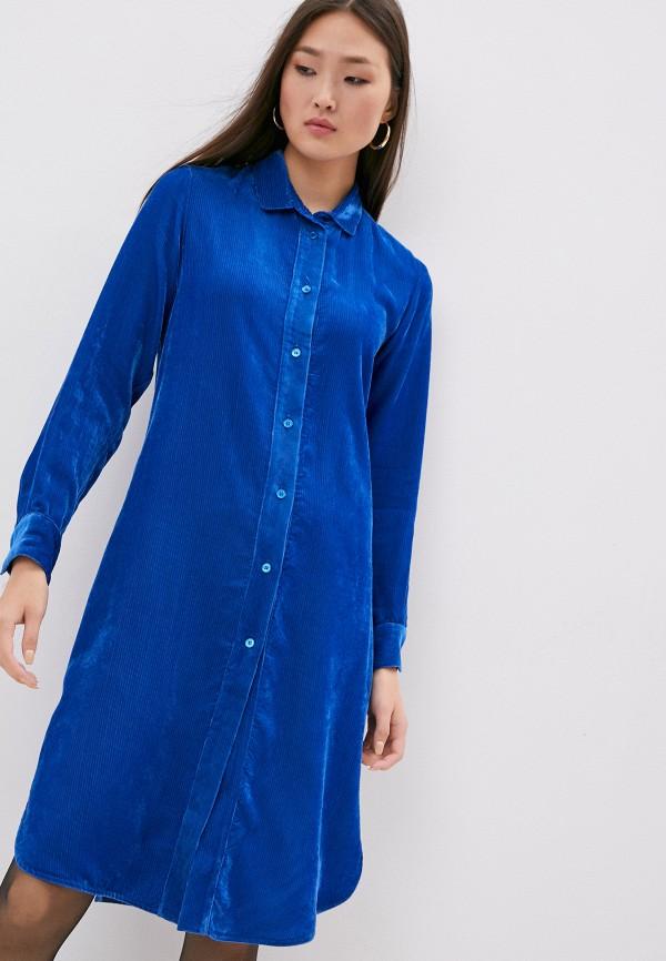 женское платье seventy, синее