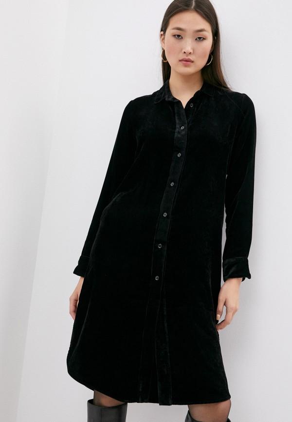женское платье seventy, черное