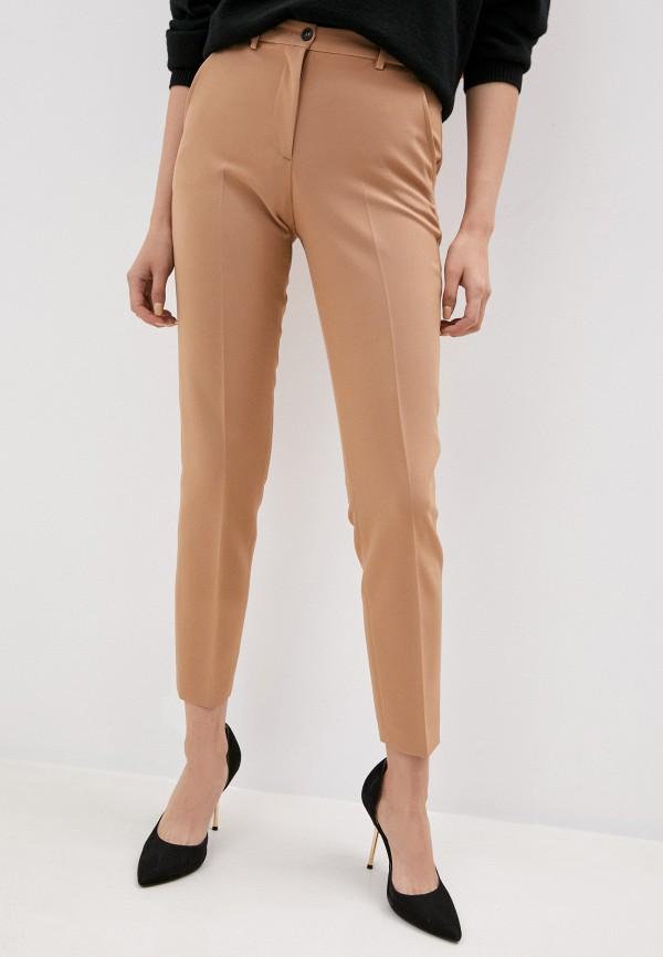 женские классические брюки seventy, бежевые