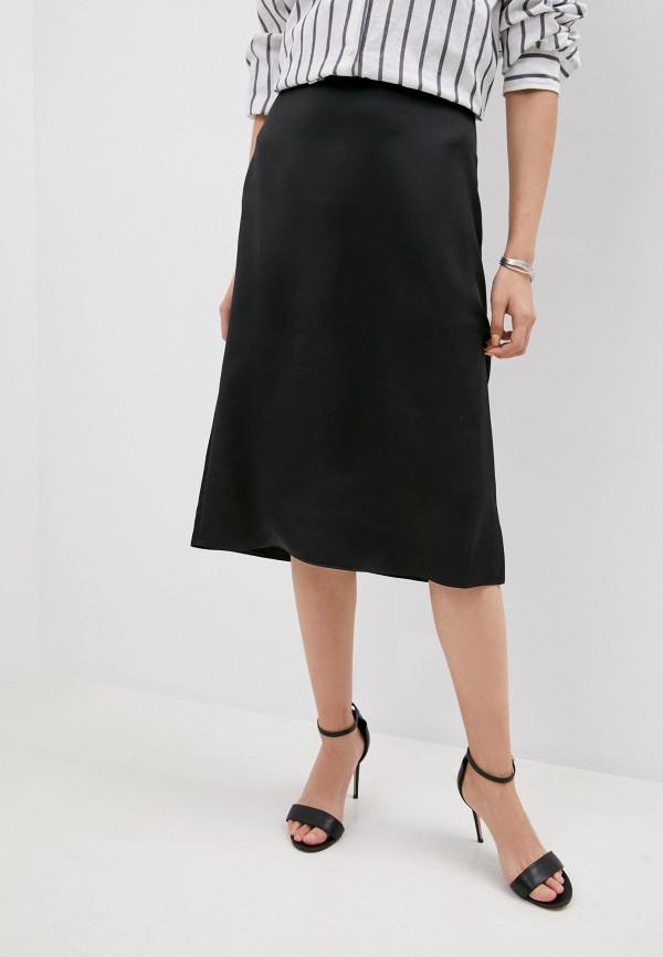 женская юбка seventy, черная