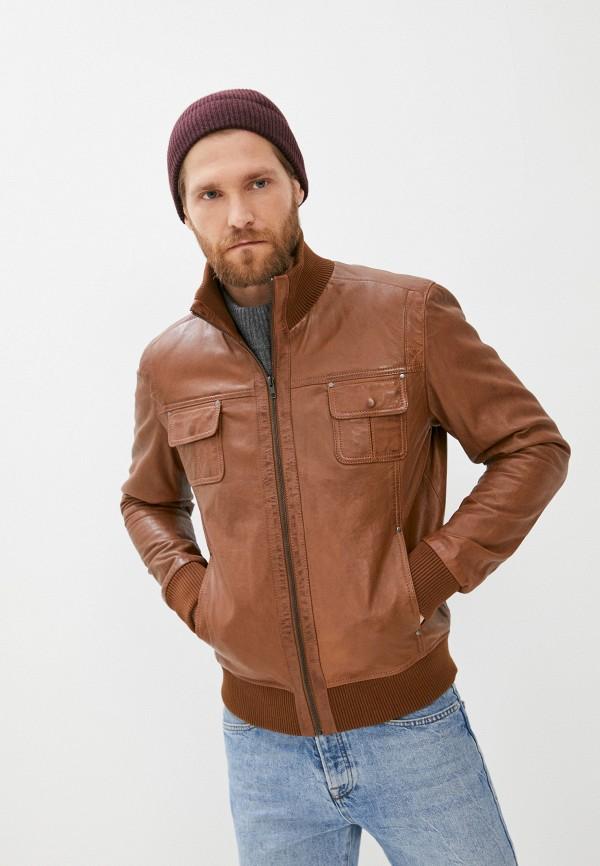 мужская куртка serge pariente, коричневая