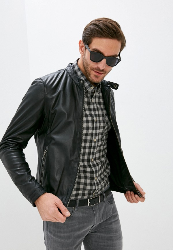 мужская куртка serge pariente, черная