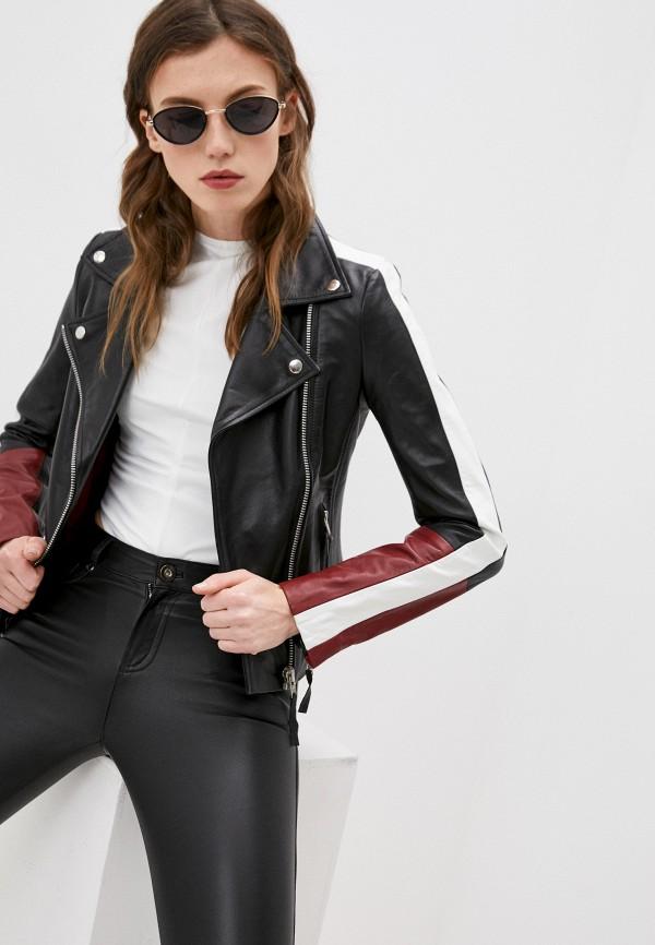 Куртка кожаная Serge Pariente