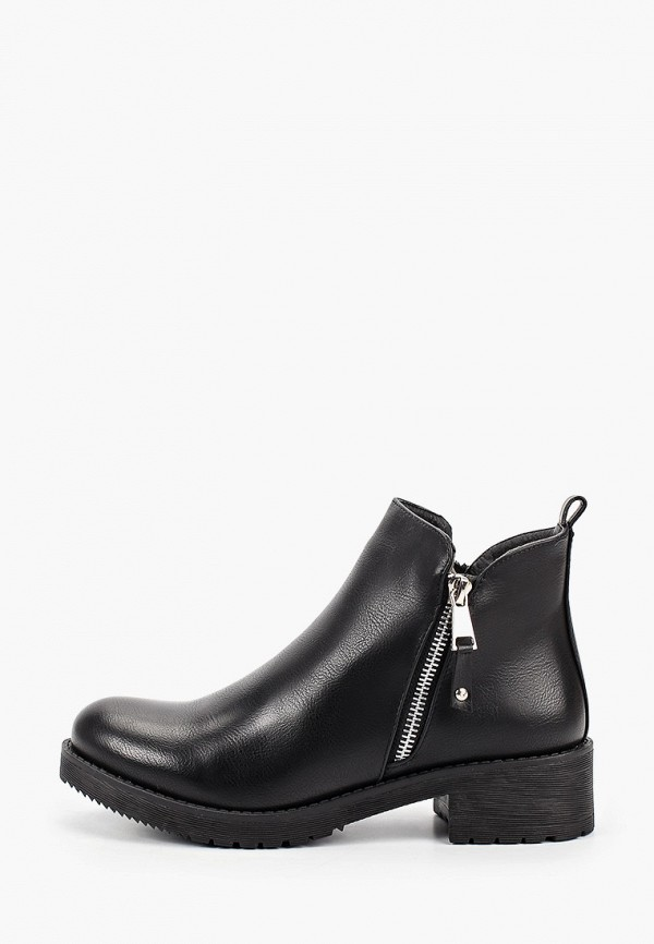 женские ботинки second lady, черные