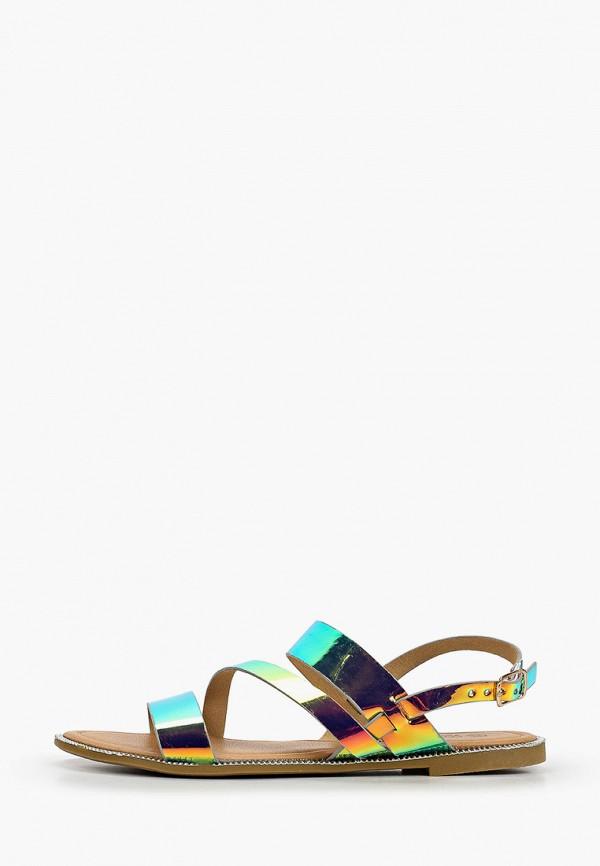 женские сандалии second lady, разноцветные