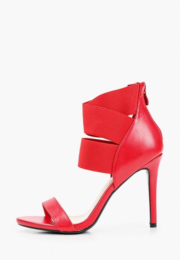 женские босоножки second lady, красные
