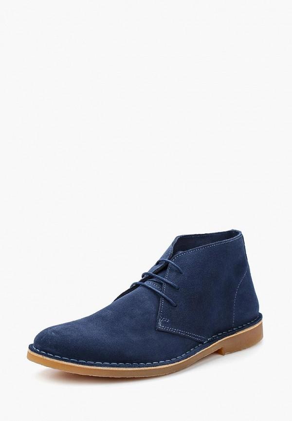 Купить Ботинки Selected Homme, se392amafug0, синий, Весна-лето 2018