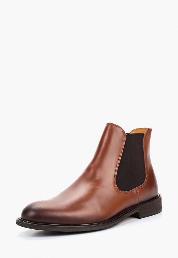 Купить Ботинки Selected Homme, SE392AMCEMD4, коричневый, Осень-зима 2018/2019