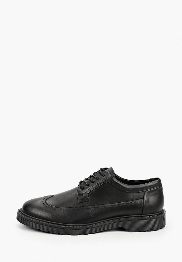 мужские туфли selected homme, черные