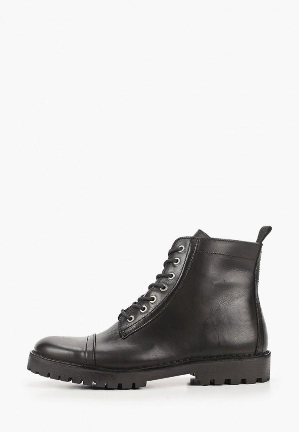 мужские ботинки selected homme, черные