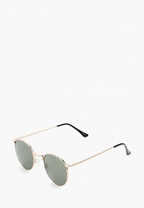 мужские круглые солнцезащитные очки selected homme, золотые
