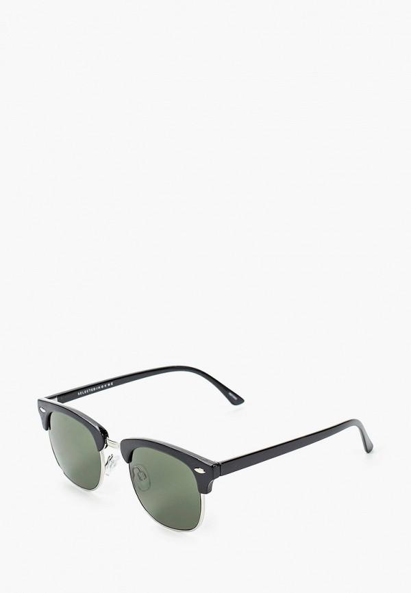 мужские солнцезащитные очки selected homme, серебряные