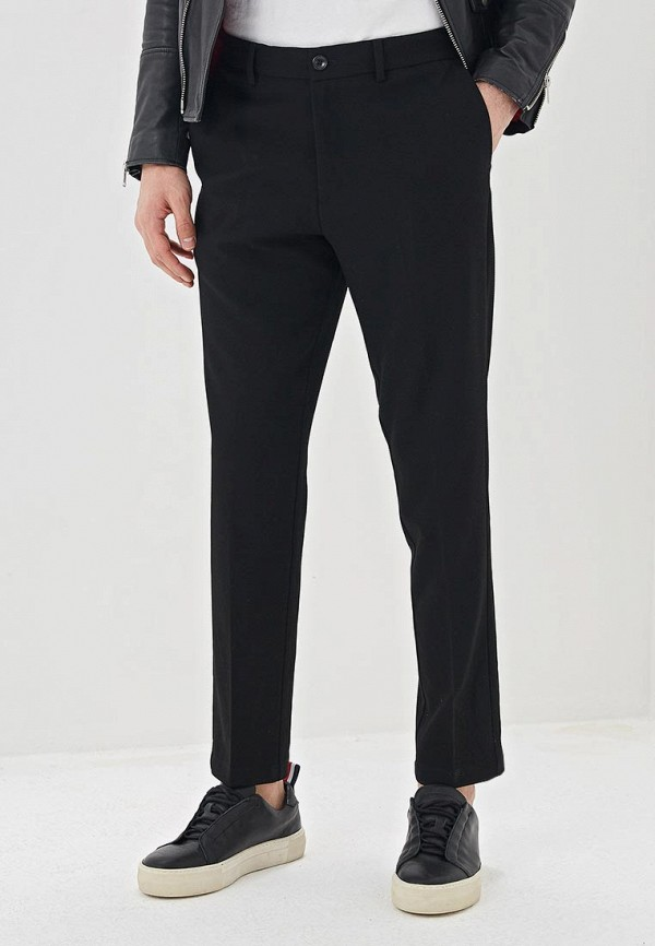 мужские повседневные брюки selected homme, черные