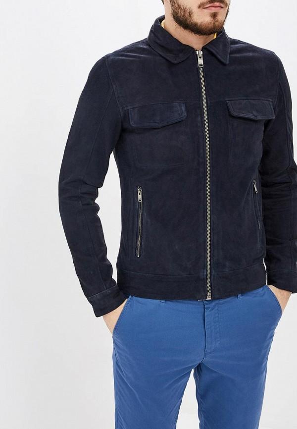 Куртка кожаная Selected Homme Selected Homme SE392EMEDVP4 solid homme куртка