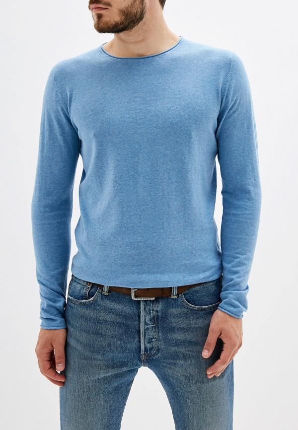 мужской джемпер selected homme, синий