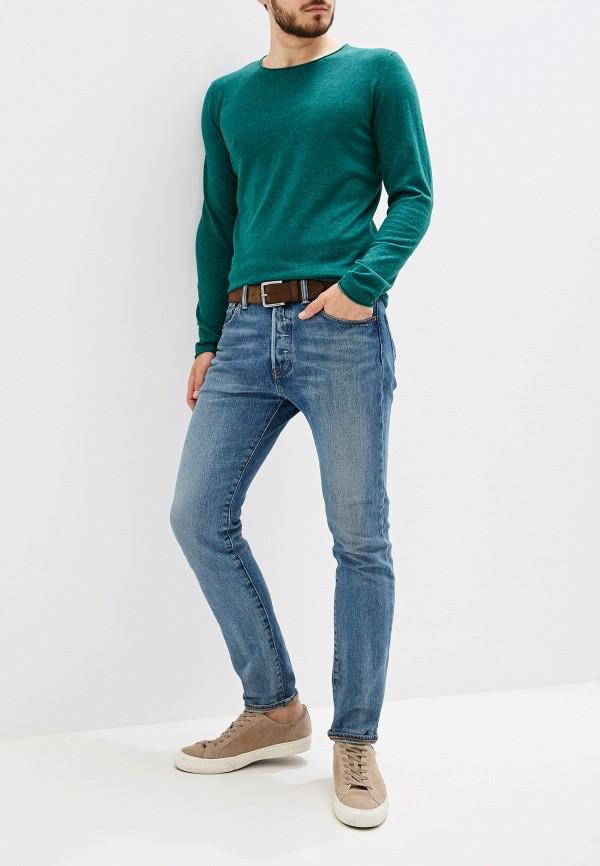 Фото 2 - мужское джемпер Selected Homme зеленого цвета