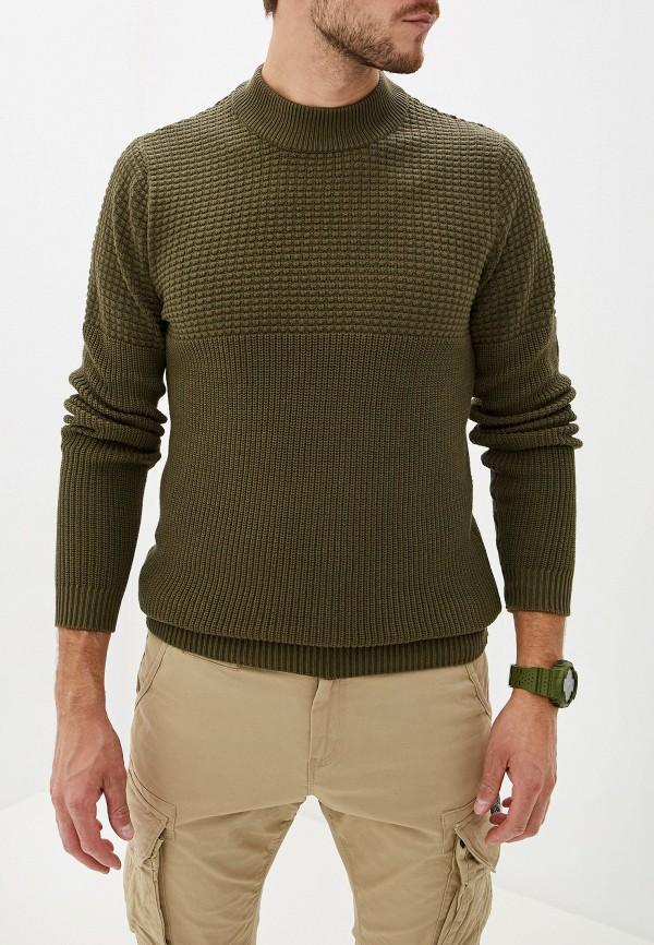 мужской свитер selected homme, хаки