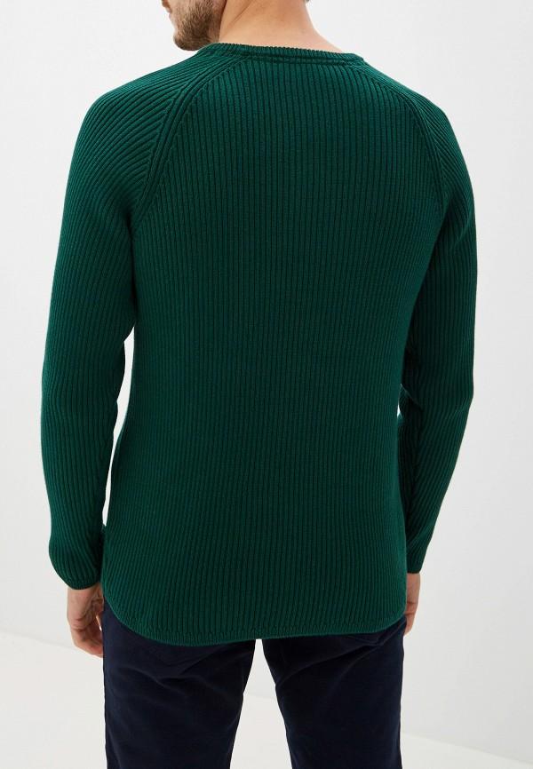 Фото 3 - Мужское джемпер Selected Homme зеленого цвета