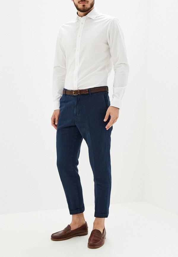Фото 2 - мужскую рубашку Selected Homme белого цвета