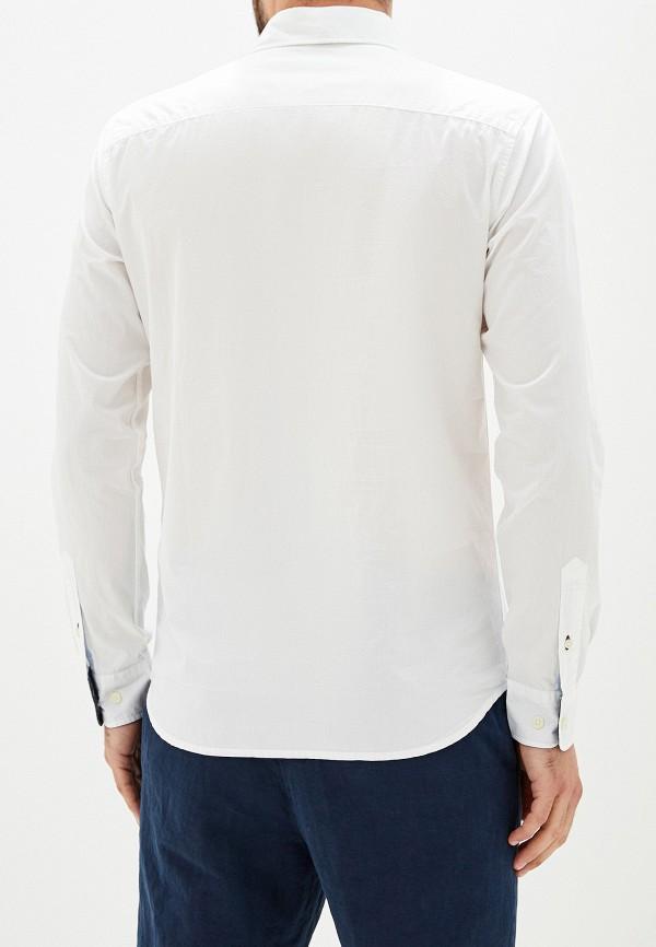 Фото 3 - мужскую рубашку Selected Homme белого цвета