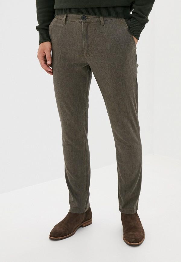 мужские повседневные брюки selected homme, коричневые