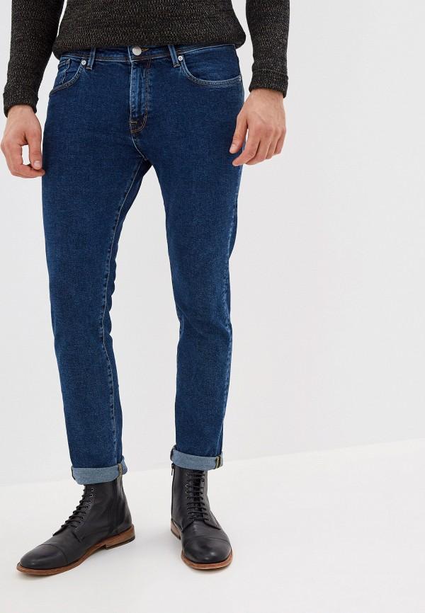мужские прямые джинсы selected homme, синие