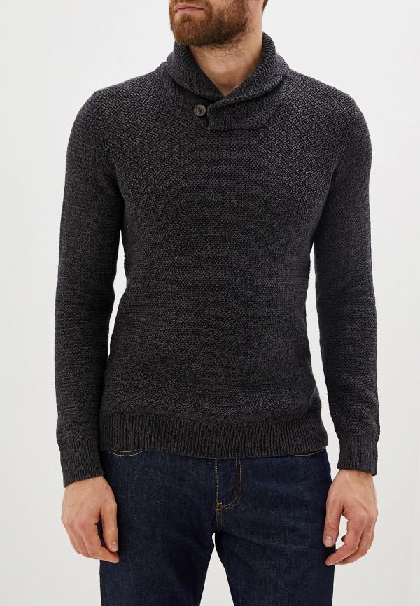 мужской свитер selected homme, серый