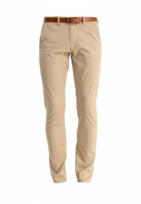 мужские повседневные брюки selected homme, бежевые