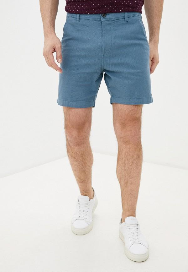 мужские повседневные шорты selected homme, голубые