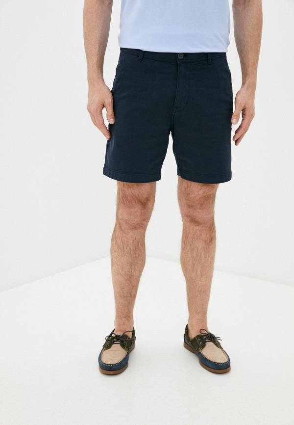 мужские повседневные шорты selected homme, синие