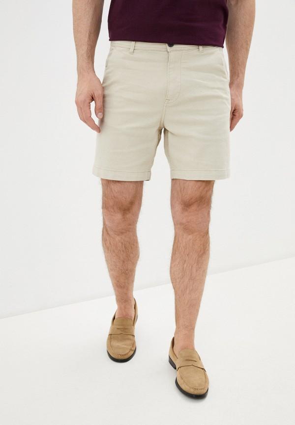 мужские повседневные шорты selected homme, бежевые