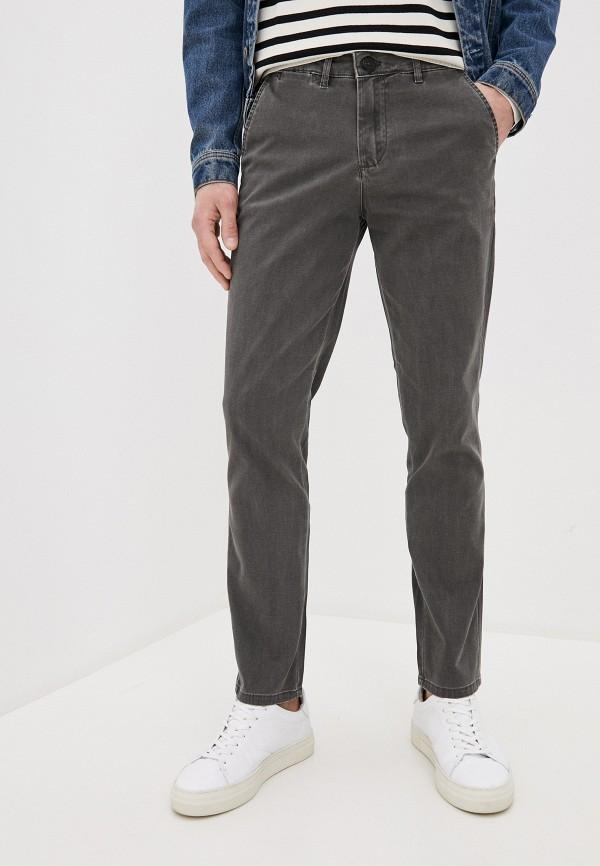 мужские прямые джинсы selected homme, серые
