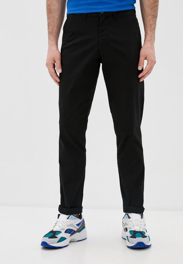 мужские брюки чинос selected homme, черные